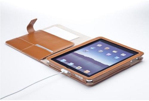 iPad用レザーケース