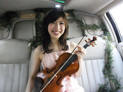 演奏していただいた澤田昭子さん
