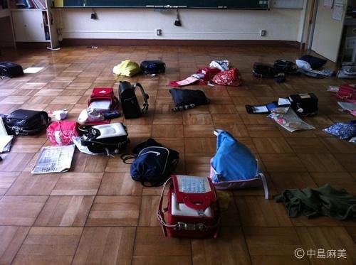 福島県双葉町双葉南小学校(2012年7月)