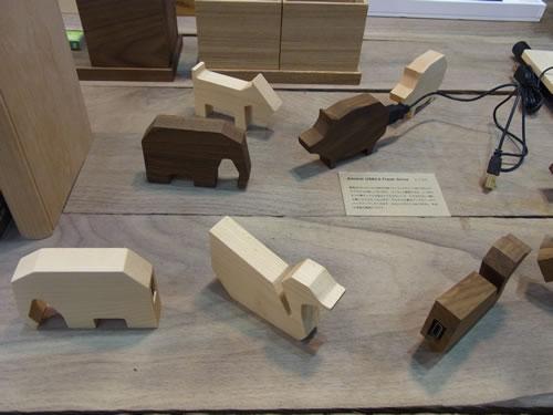 5種類の動物をそろえた『Animal USB2.0 Flash Drive』