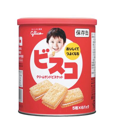 江崎グリコ『ビスコ缶』