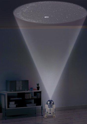 ホームスター R2-D2 投影イメージ
