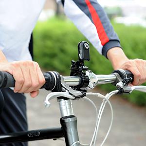 自転車用ミニDVカメラ(動画・静止画対応)400-CAM001