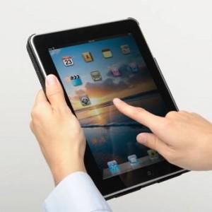 iPad レザーケース 200-IN023