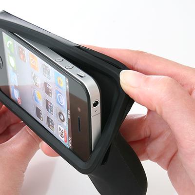 iPhone 4 シリコンゲームグリップ 400-JY003
