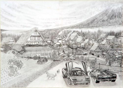 広島県福山市で今月20日から開催される、「死刑囚の絵画」の決定的な展覧会