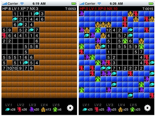 人気FlashゲームがiPhoneアプリに