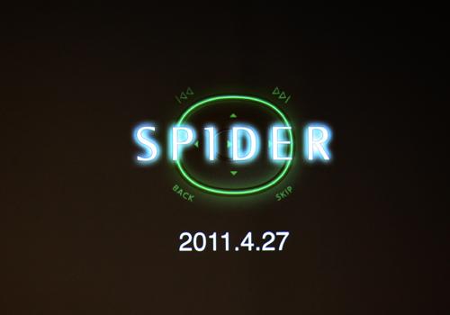 SPIDER ロゴ
