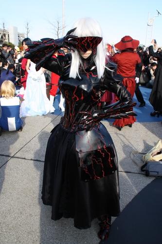 『Fate』セイバーオルタのコスプレ草薙類さん