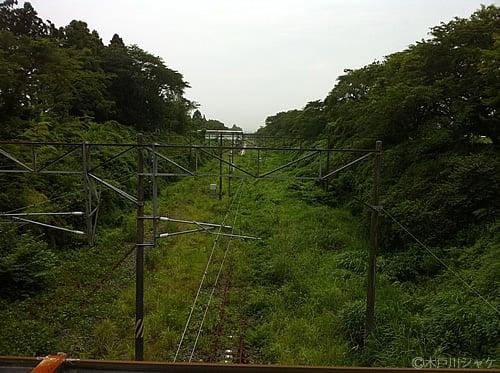 JR夜ノ森駅(富岡町)