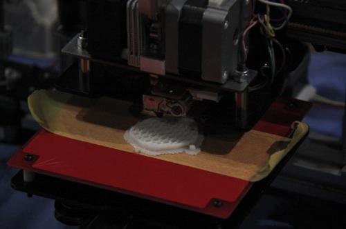 3Dプリンター接写