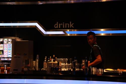 Drinkコーナーもこのように