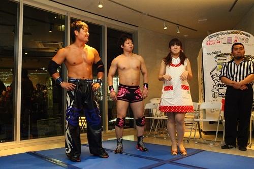 HARASHIMAさん石井さんチーム