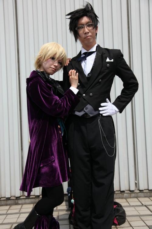 クロード・フォースタス(黒執事)誠さん、アロイス・トランシー(黒執事)めそさん