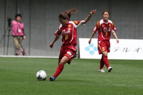 試合中:INAC澤選手