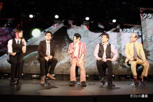 源氏物語スタッフとMCの百花繚乱さん