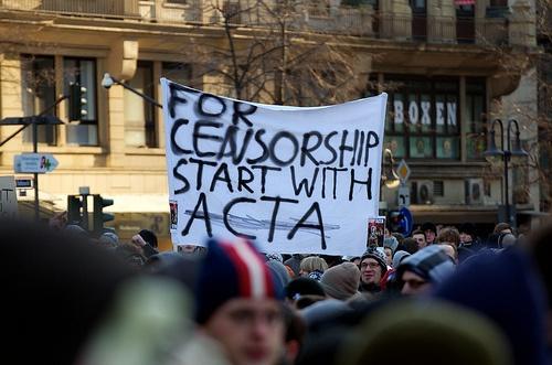 ドイツのACTA反対デモ「Stop ACTA 24」(martinkrolikowski)