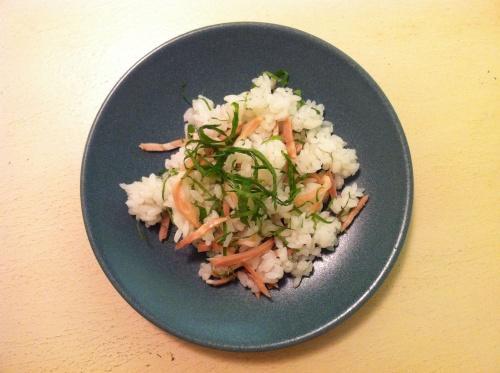 【混ぜご飯レシピ】大葉と焼豚のまぜごはん