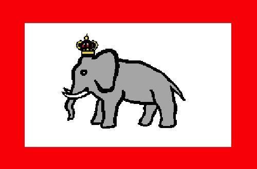 ダホメ王国の国旗