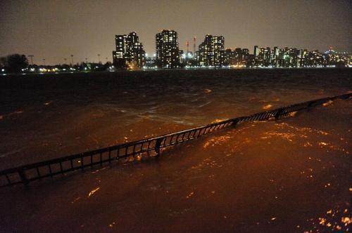 """■NY発■ ニューヨークを襲ったハリケーン""""サンディ""""の爪あと"""