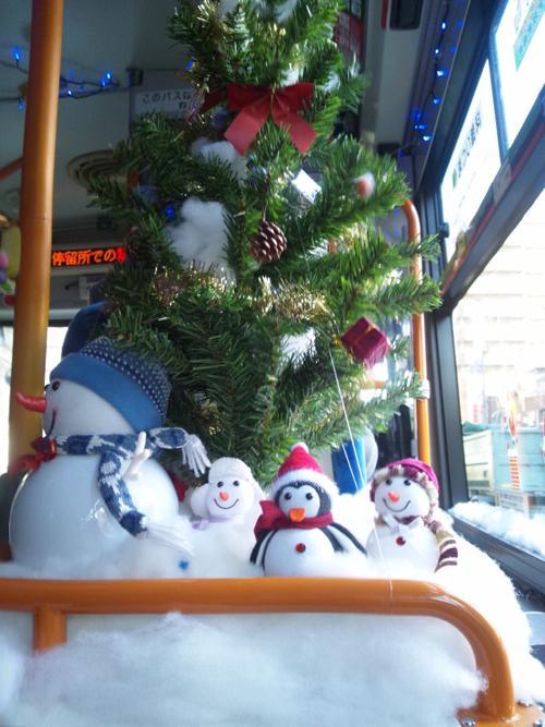 つぶやかずにはいられない! 横浜市営バスが尋常じゃないクリスマス仕様★