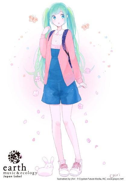 earth × 初音ミク&鏡音リン × 知梨