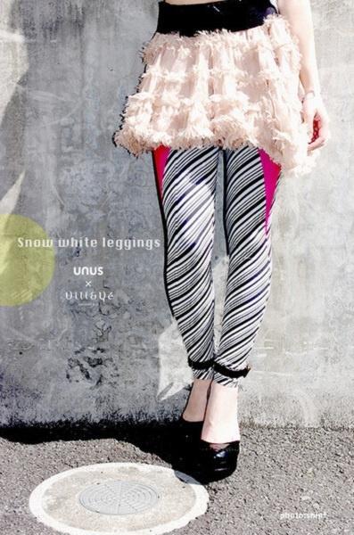 UNUS × Vili&Ve『Narcissism Leggings』