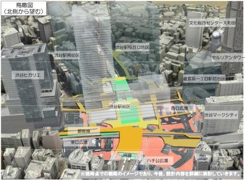 東急渋谷駅の地下化は序章にすぎなかった! ~知っておきたい渋谷再開発計画~