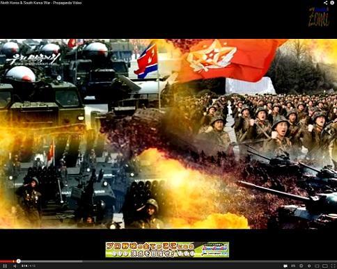 北朝鮮のプロパガンダ動画の音楽が猪木のテーマをパクっている