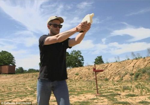 『3Dプリンター』を使って実弾が撃てる銃の製造に成功・米国