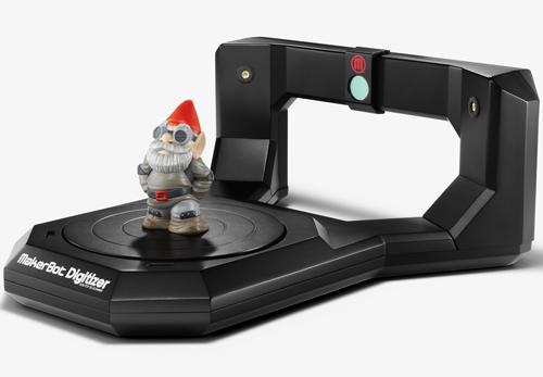 約15万円で3Dスキャナが手に入る MakerBot Digitizer がアメリカでリリース