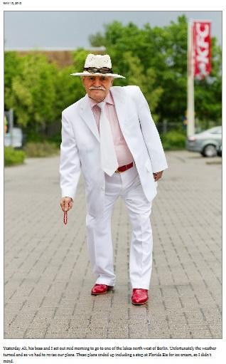 83歳のおじいちゃんのファッションブログが世界中で絶賛!