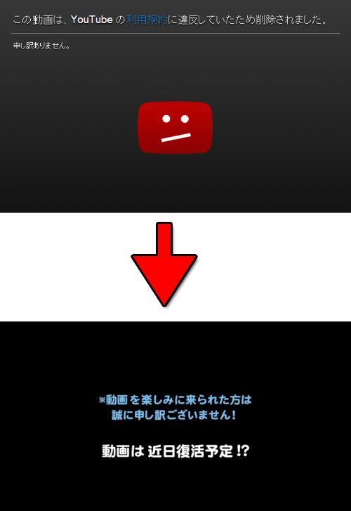 動画の削除
