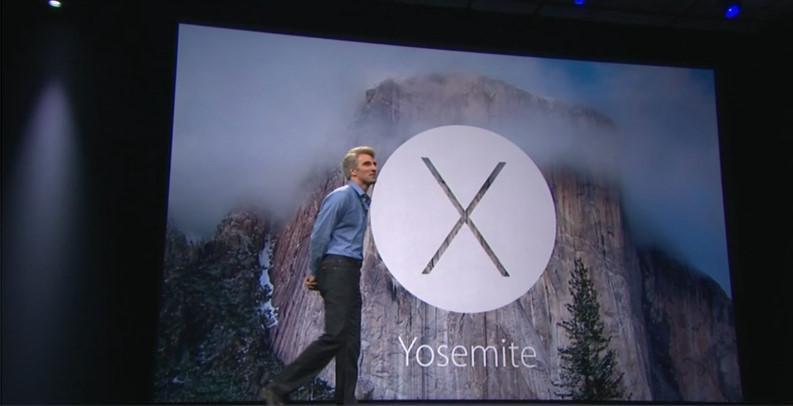 OS X 「YOSEMITE」