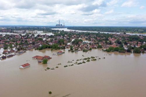 セルビア共和国の洪水