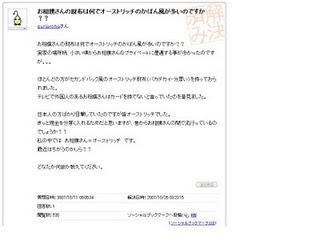 『Yahoo!知恵袋』のおもしろいやり取り ~お相撲さん編~