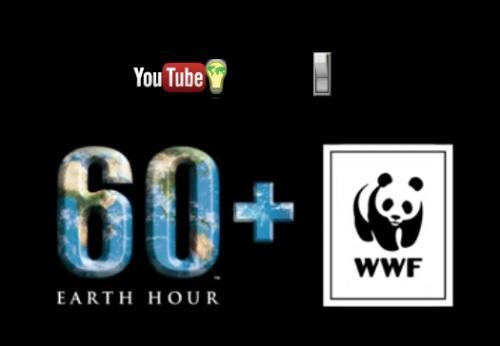 YouTubeに「スイッチ」登場 地球温暖化を止めたい!アースアワー