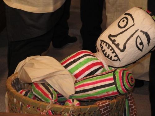 国指定重要無形民俗文化財「板橋の田遊び」を見てきたよ