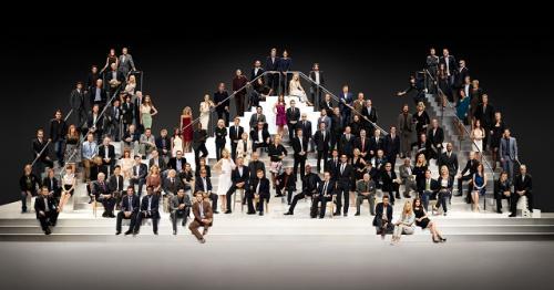 スピルバーグ監督、ブラピ、J・ビーバーらハリウッドスター116人が集結した豪華写真が公開