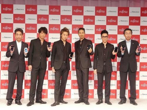 EXILEも「日本のARROWS」を応援!――富士通がNTTドコモ向け2012年夏モデル説明会を開催【レポート】
