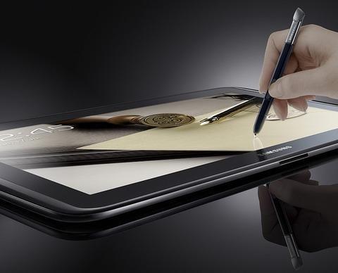 """三星公布了针对S笔的10英寸平板电脑""""Galaxy Note 10.1""""的发布时间和发布区域的详细信息"""