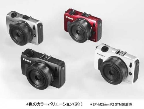 キヤノン、高画質と小型軽量化を両立したミラーレスカメラ「EOS M」を発売【売れ筋チェック】