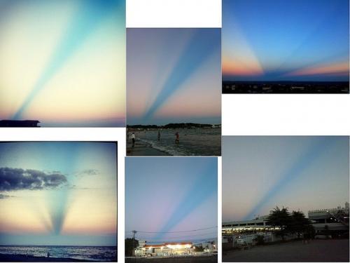 なんだこの不思議な空は? 神奈川周辺で見られた不思議な空が話題に