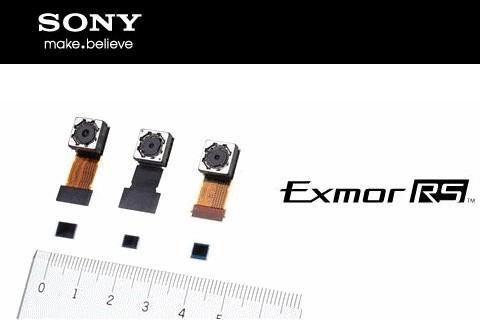 """ソニー、スマホやタブレット向けの新開発の積層型CMOSイメージセンサー""""Exmor RS""""を発表"""