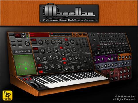 2つのシンセで強烈サウンドも思いのまま!実用的に作り込まれた良シンセアプリ「Magellan」【iPadアプリ】