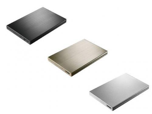 Ultrabookにモバイルノートに最適! 厚さ9ミリUSB3.0対応のポータブルHDD「カクうす9」