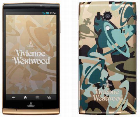 NTTドコモ、3万台限定!Vivienne Westwoodの世界観を堪能できるコラボモデル「SH-01E Vivienne Westwood」を発表