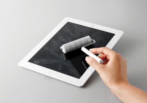 タッチパネルにコロコロしてお掃除しよう!キングジムがタッチパネルクリーナー「iコロコロ」を9月28日から発売開始