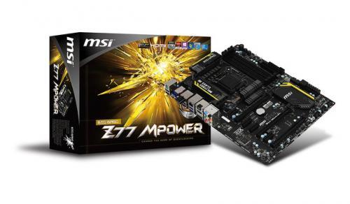 """オーバークロックを推奨するマザー! MSI製""""超品質""""マザーボード「Z77 MPower」登場"""
