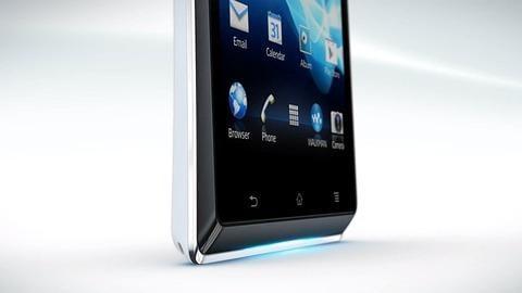 Sony Mobile、端末下部にイルミネーションを備えた低価格帯モデル「Xperia J」を発表